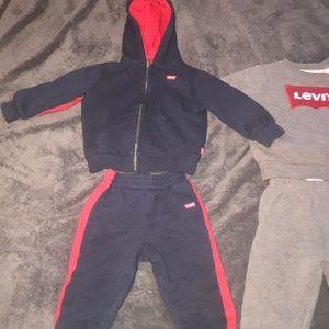2 Levi suit sets 18 months